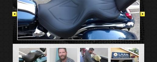 Laam Custom Motorcycle Seats