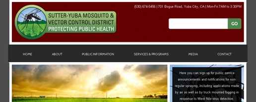 Sutter Yuba Mosquito & Vector Control District